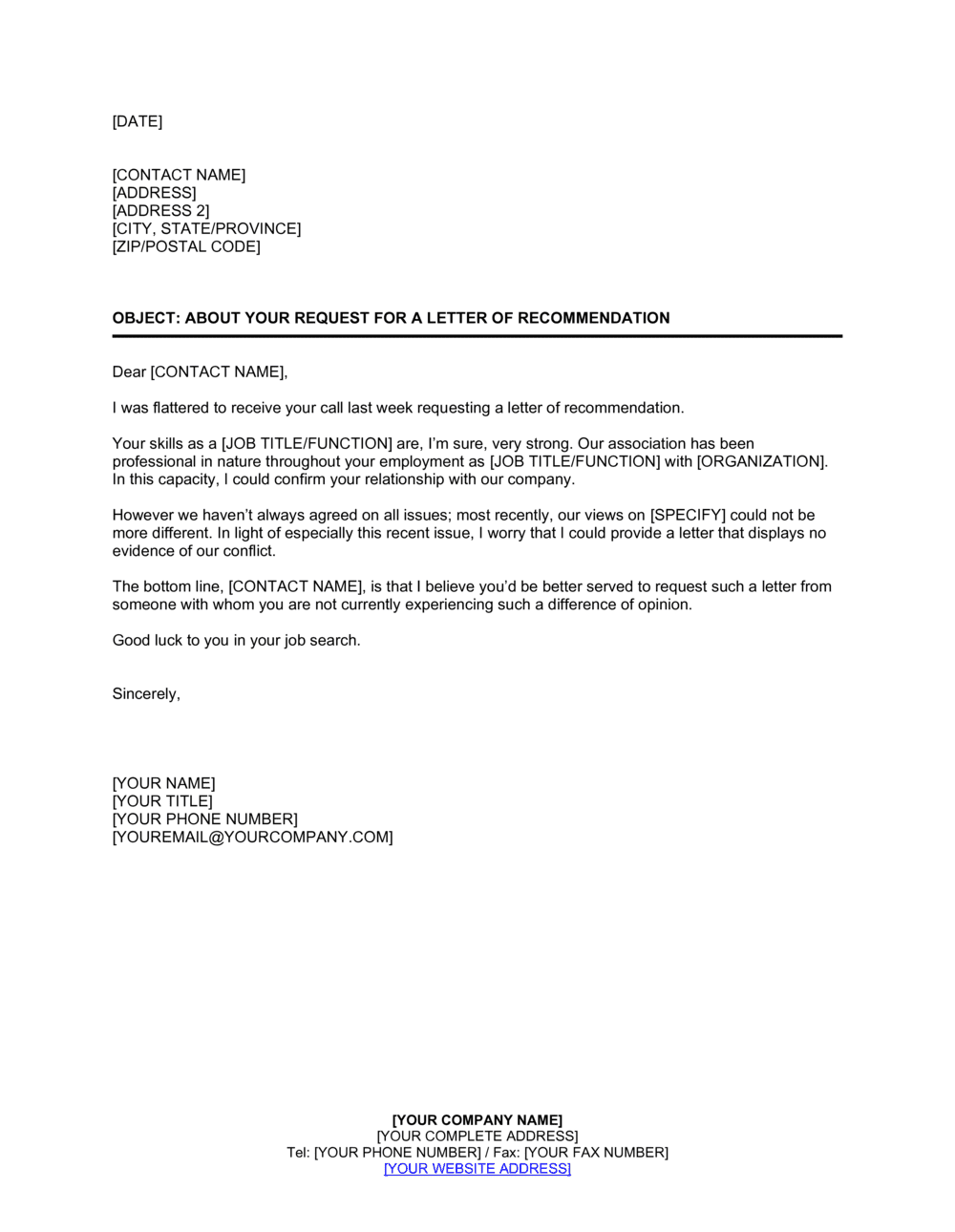 Letter Of Recommendation Template Word from templates.business-in-a-box.com