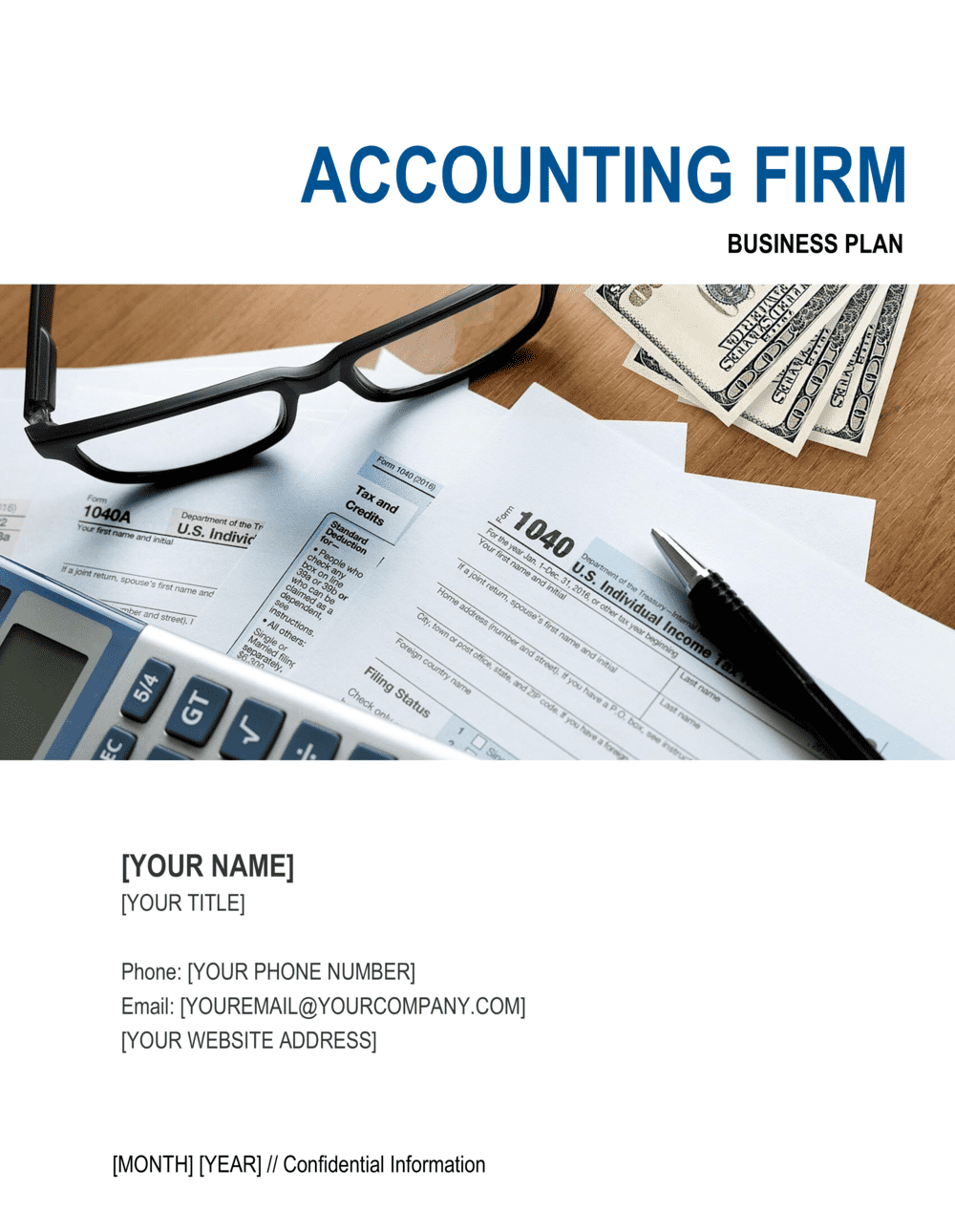 Business-in-a-Box's Accounting Firm Business Plan Template