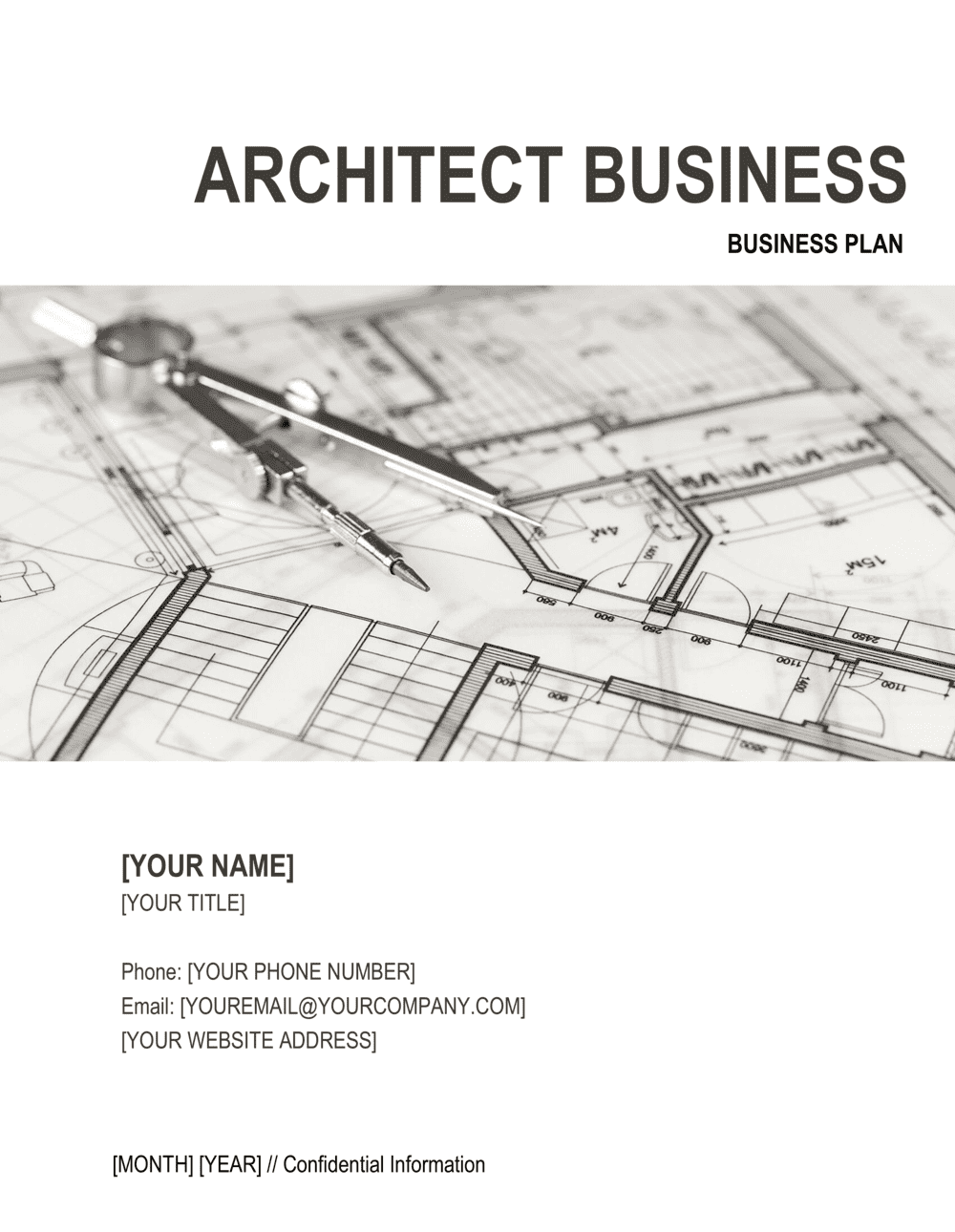 Business-in-a-Box's Architect Business Plan Template