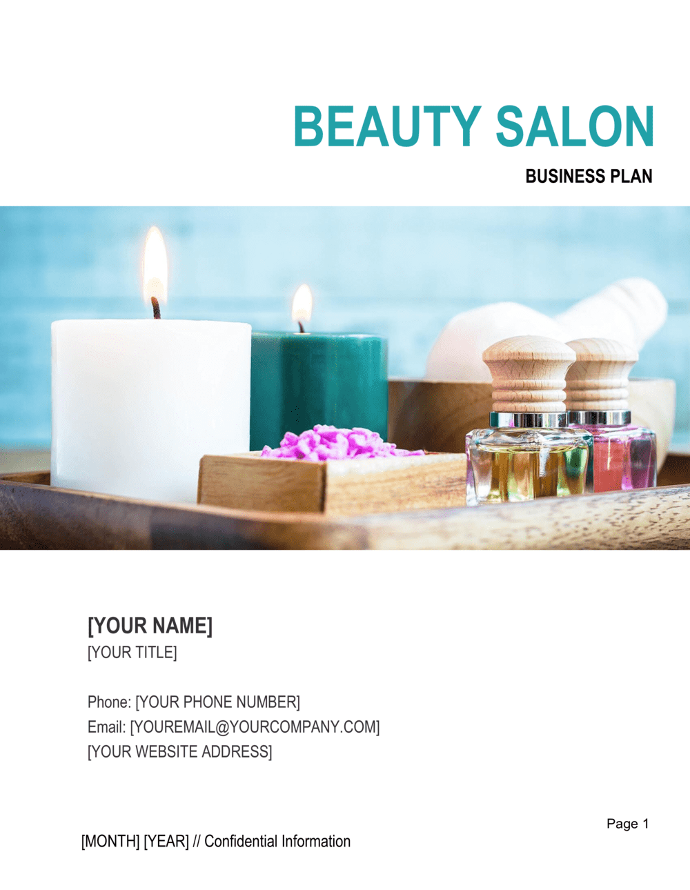 Business-in-a-Box's Beauty Salon Business Plan Template
