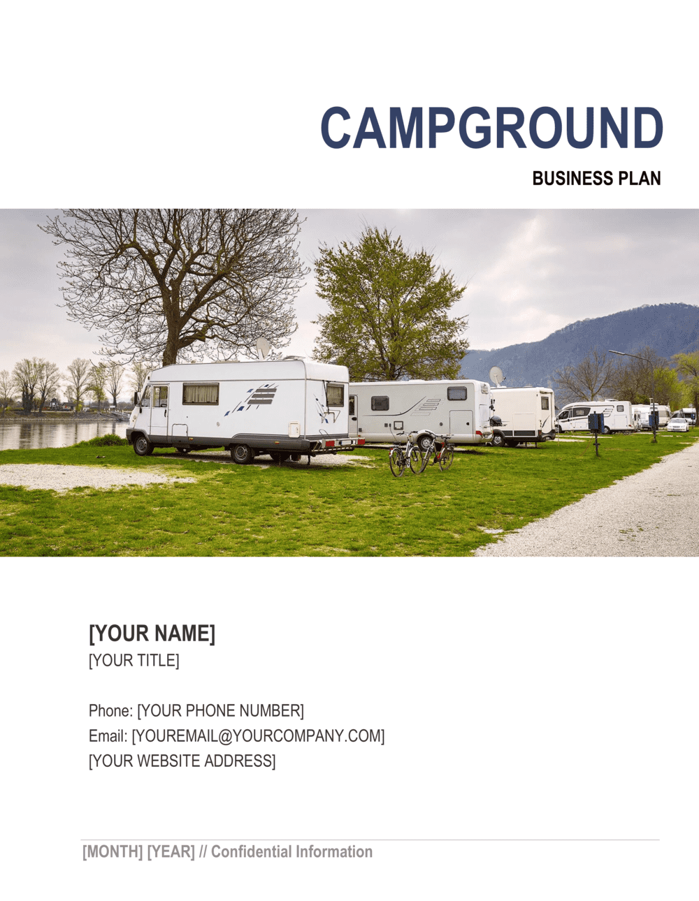 Business-in-a-Box's Campground Business Plan Template
