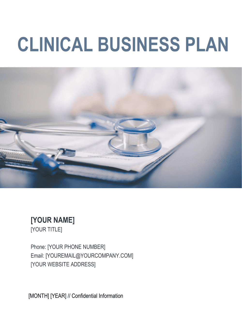 Business-in-a-Box's Clinic Business Plan Template