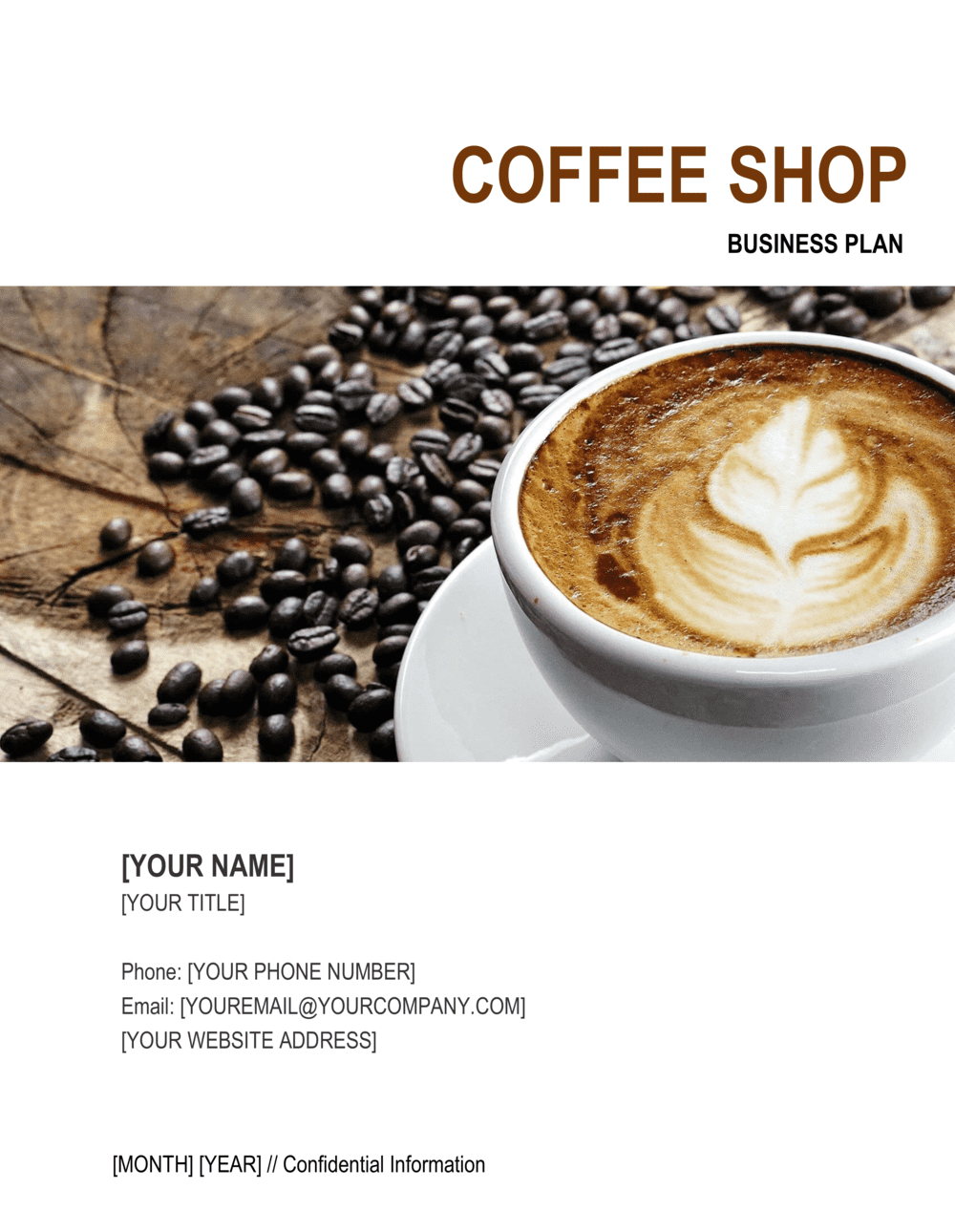 Business-in-a-Box's Coffee Shop Business Plan Template