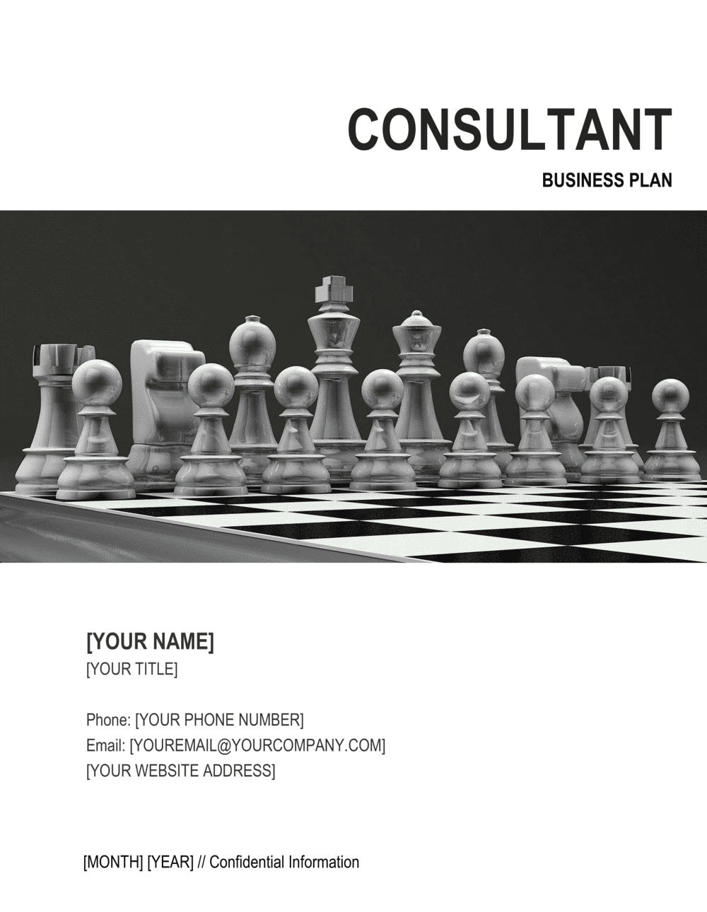 Business-in-a-Box's Consultant Business Plan Template