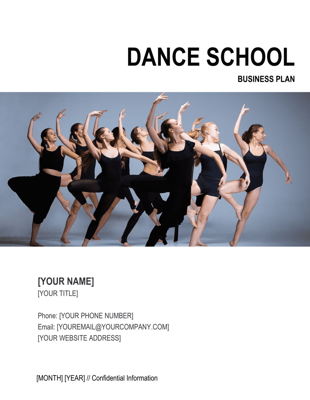 Business-in-a-Box's Dance School Business Plan Template