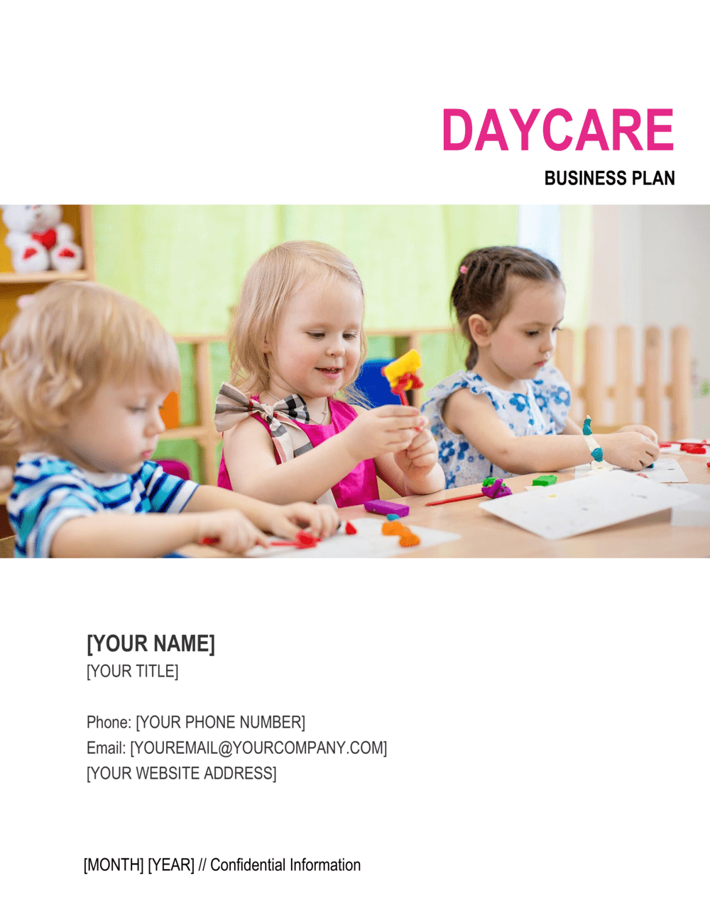 Business-in-a-Box's Daycare Business Plan Template