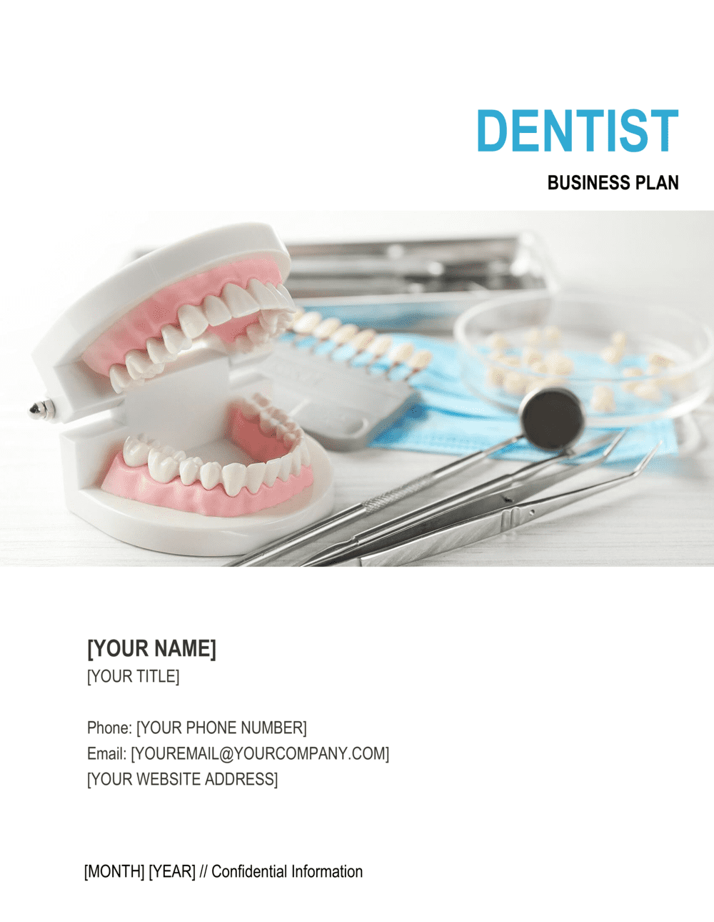 Business-in-a-Box's Dentist Business Plan Template