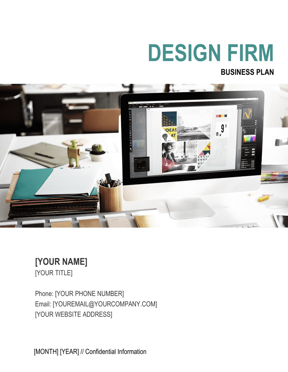 Business-in-a-Box's Design Firm Business Plan Template
