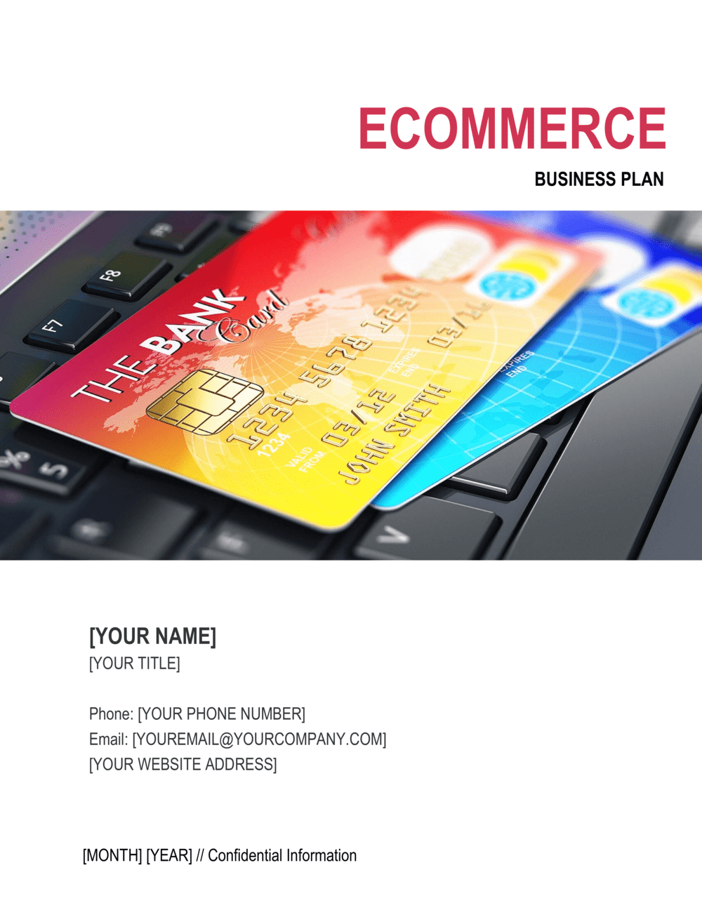 Business-in-a-Box's eCommerce Business Plan Template