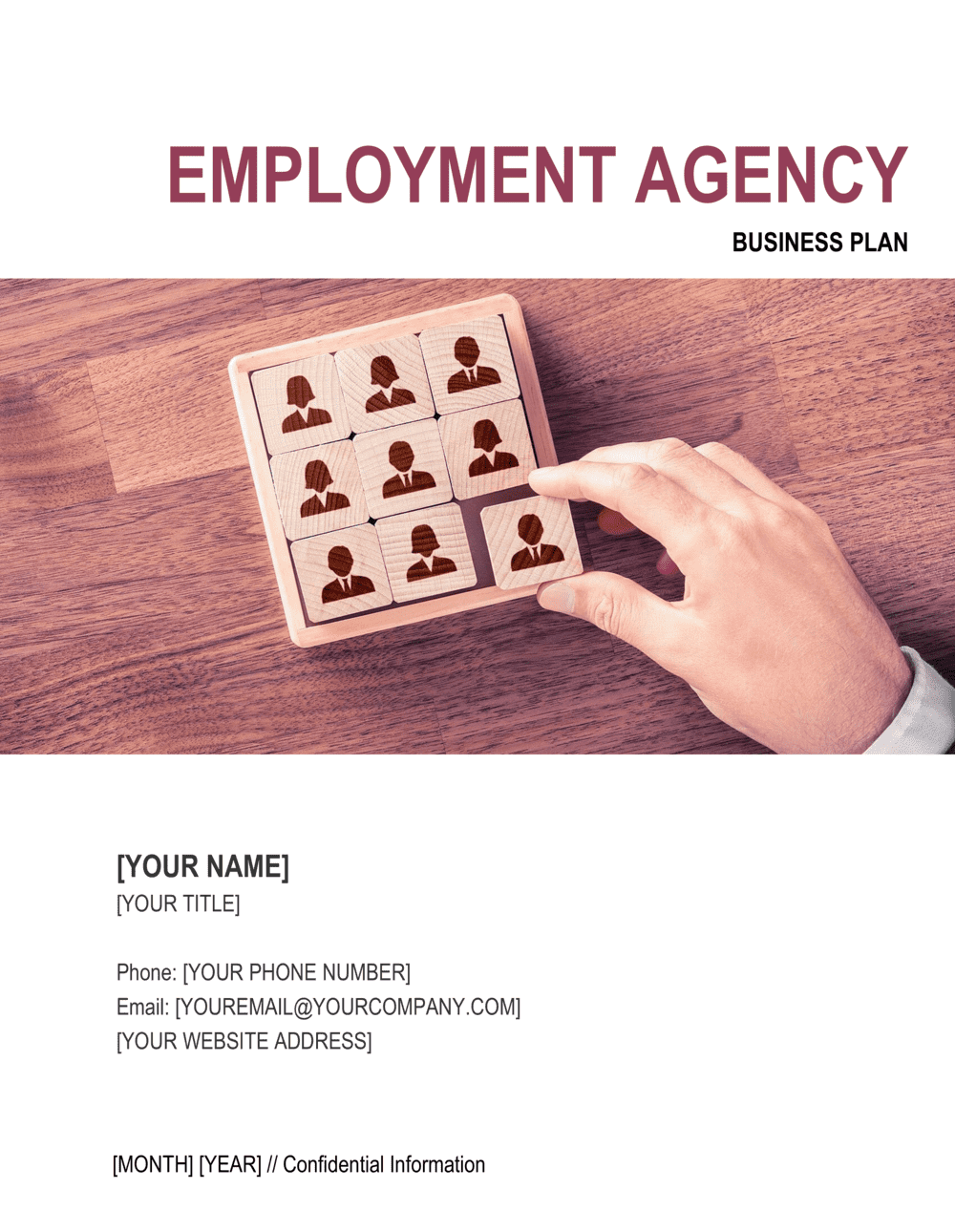 Business-in-a-Box's Employment Agency Business Plan Template
