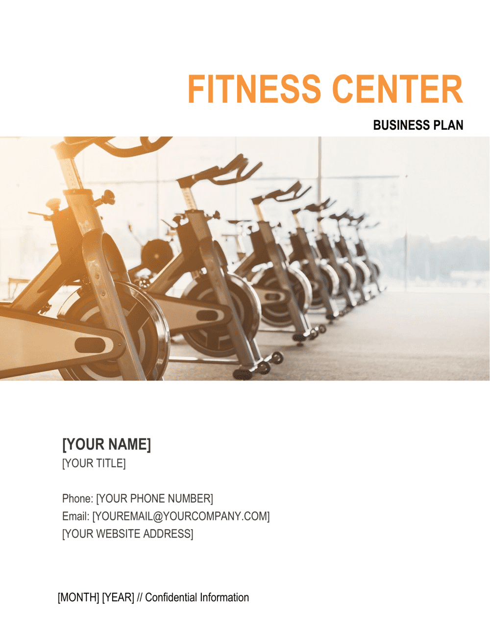 Business-in-a-Box's Fitness Center Business Plan Template