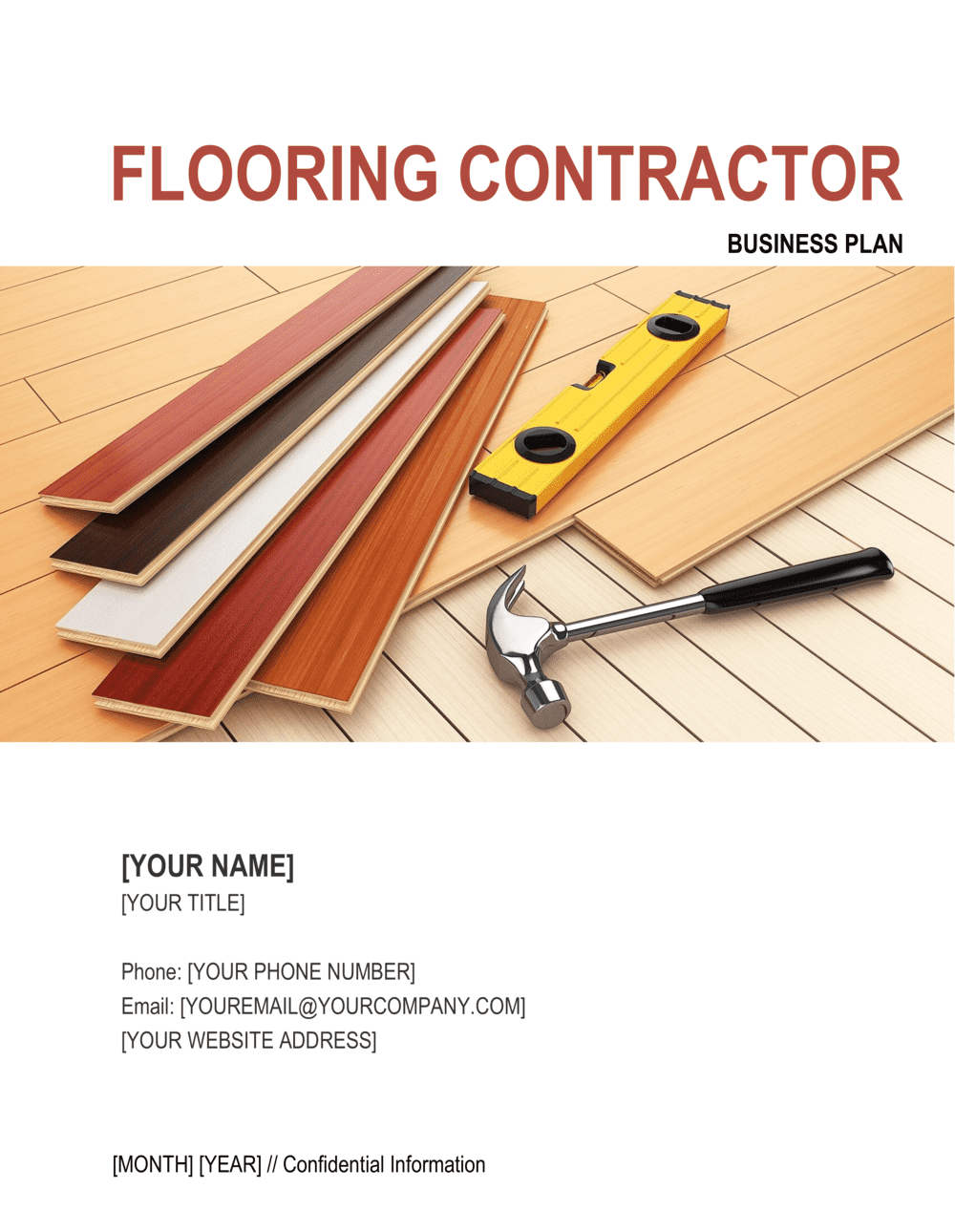 Business-in-a-Box's Flooring Contractor Business Plan Template