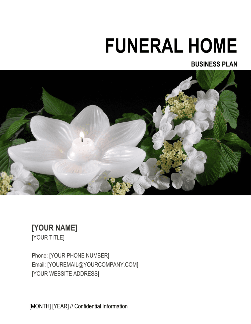 Business-in-a-Box's Funeral Home Business Plan Template
