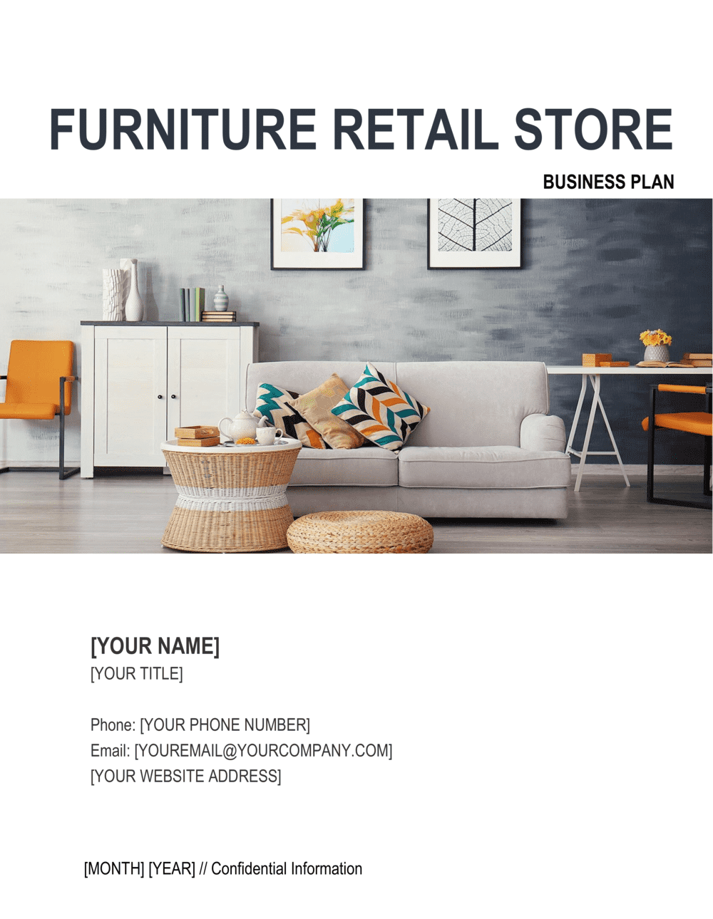 Business-in-a-Box's Furniture Retail Store Business Plan Template