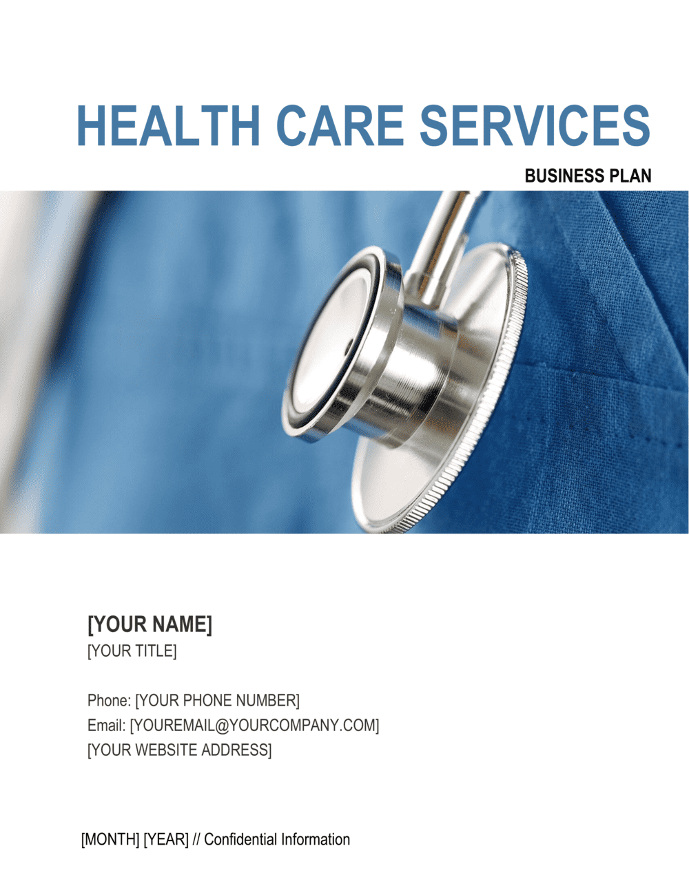 Business-in-a-Box's Health Care Services Business Plan Template