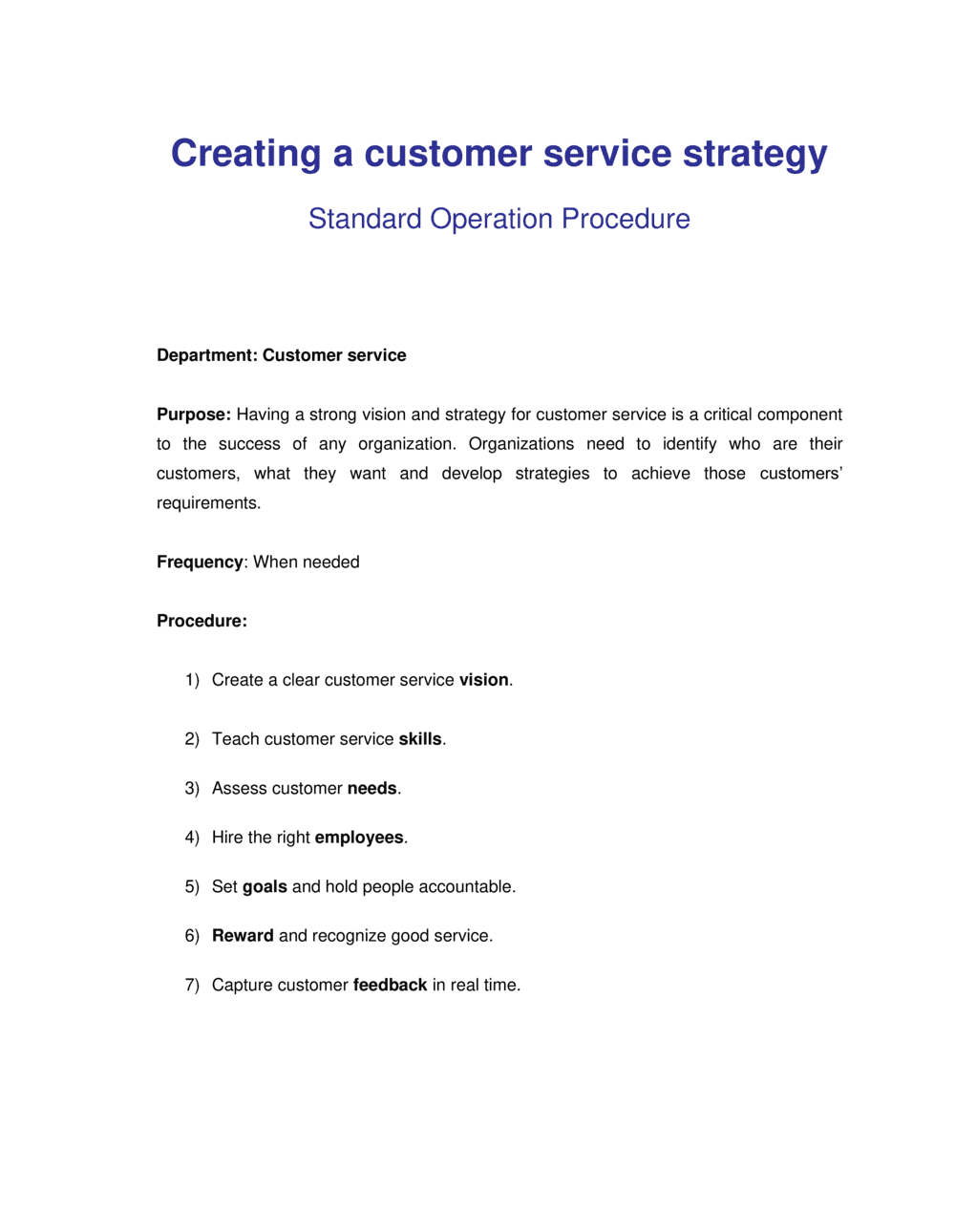 Business-in-a-Box's How to Creating a Customer Service Strategy