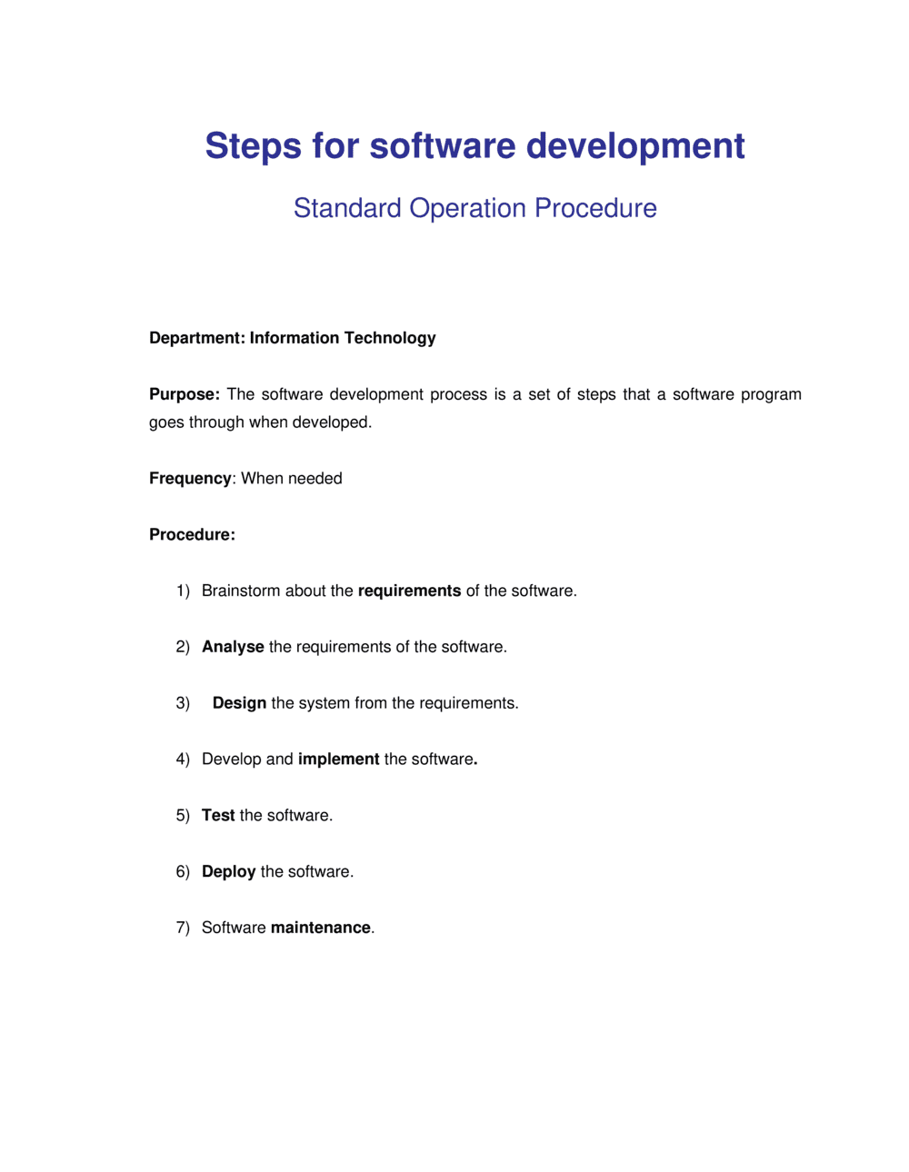 Business-in-a-Box's How to Develop Software Template