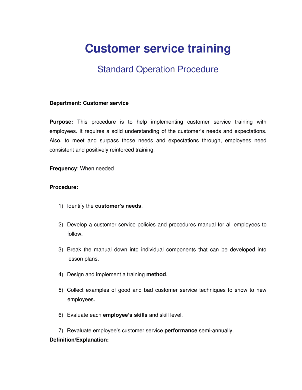 Business-in-a-Box's How to Implement Customer Service Training