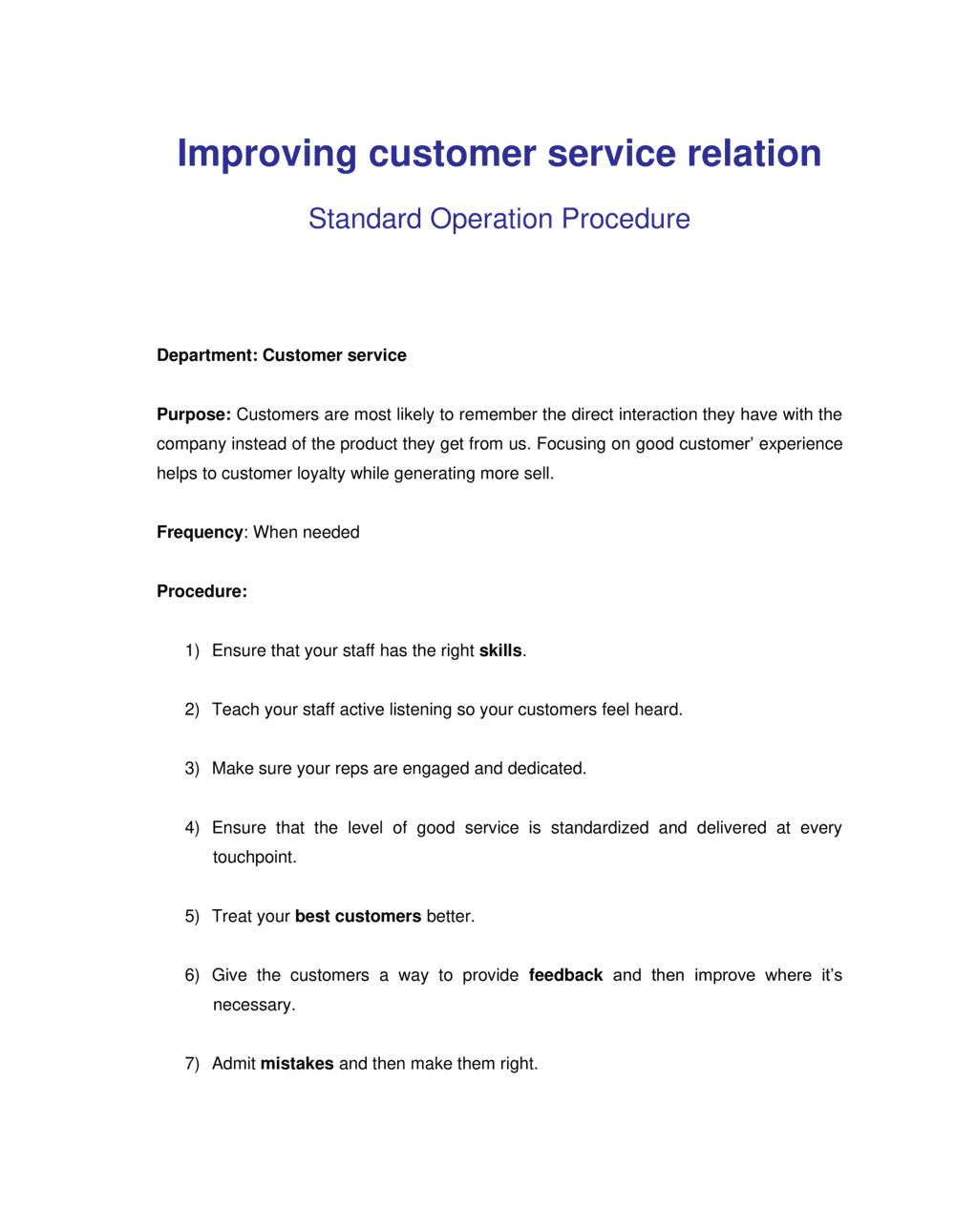Business-in-a-Box's How to Improve Customer Relationship