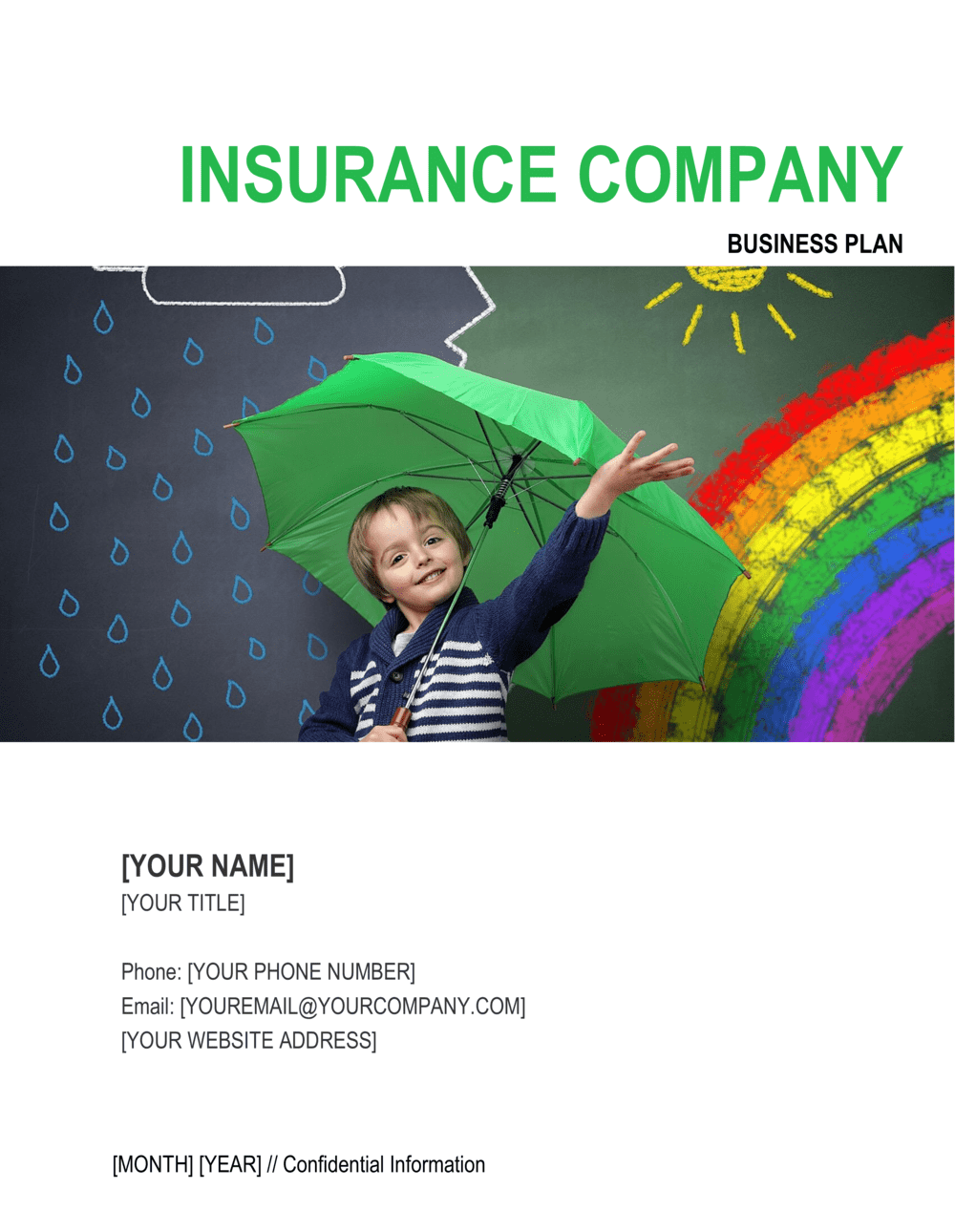 Business-in-a-Box's Insurance Company Business Plan Template