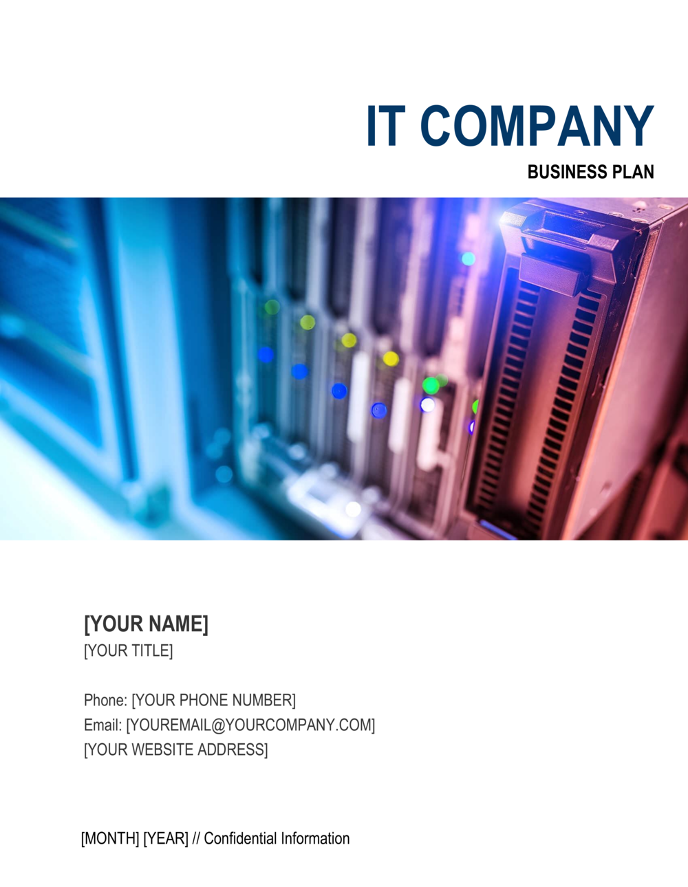 Business-in-a-Box's IT Company Business Plan Template
