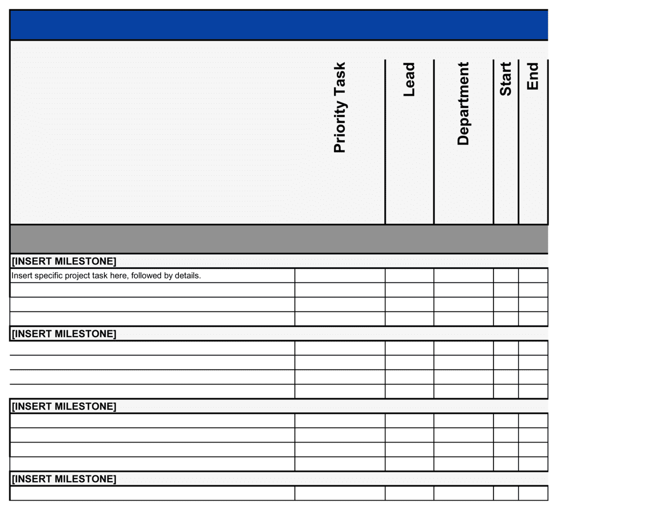 Business-in-a-Box's It Project Plan Template
