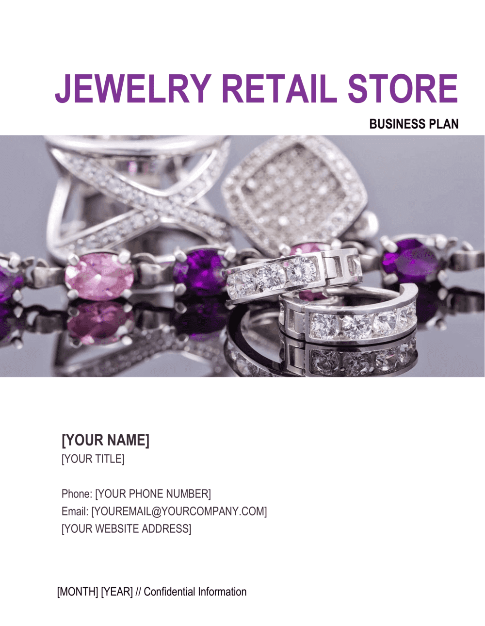 Business-in-a-Box's Jewelry Retail Store Business Plan Template