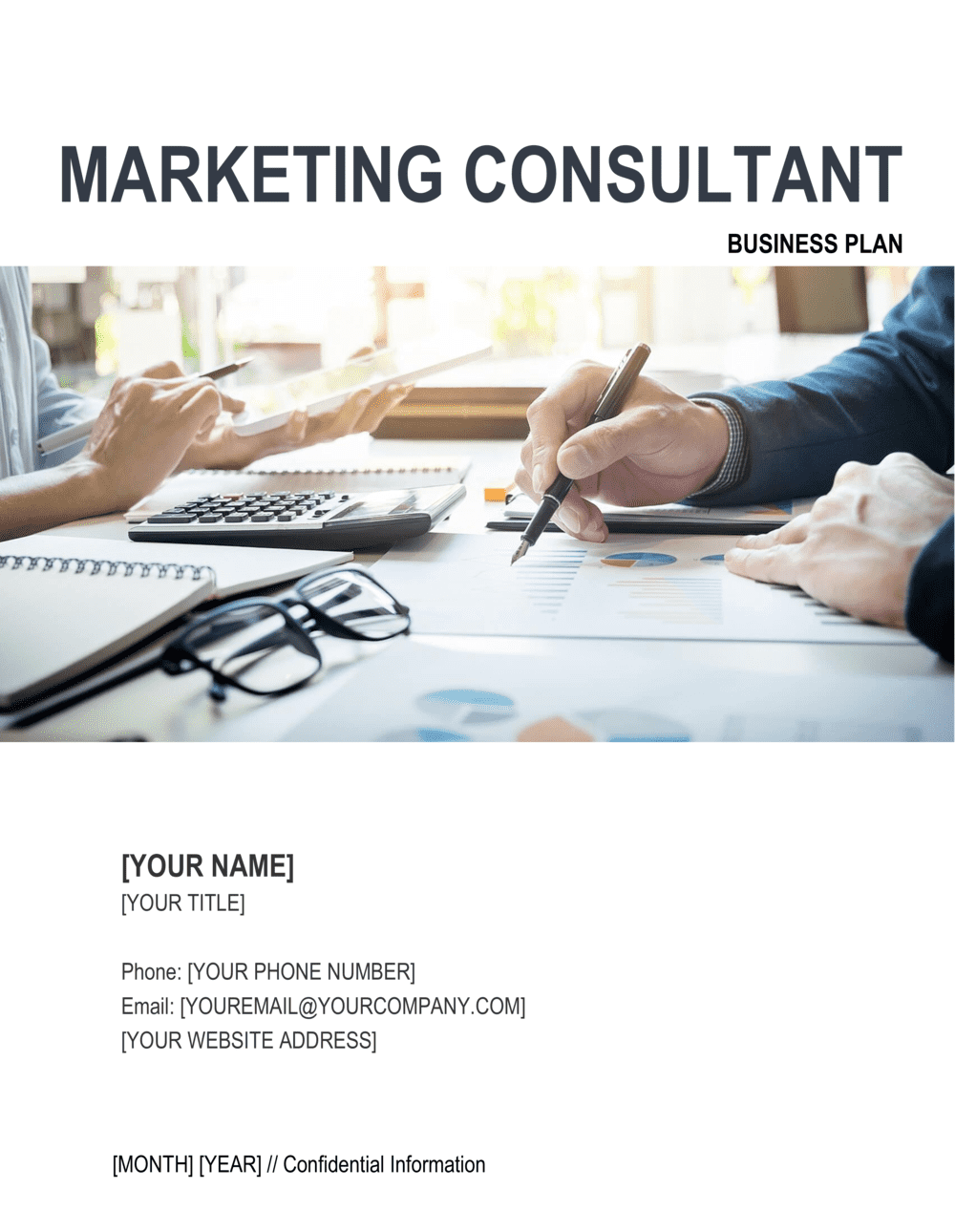 Business-in-a-Box's Marketing Consultant Business Plan Template