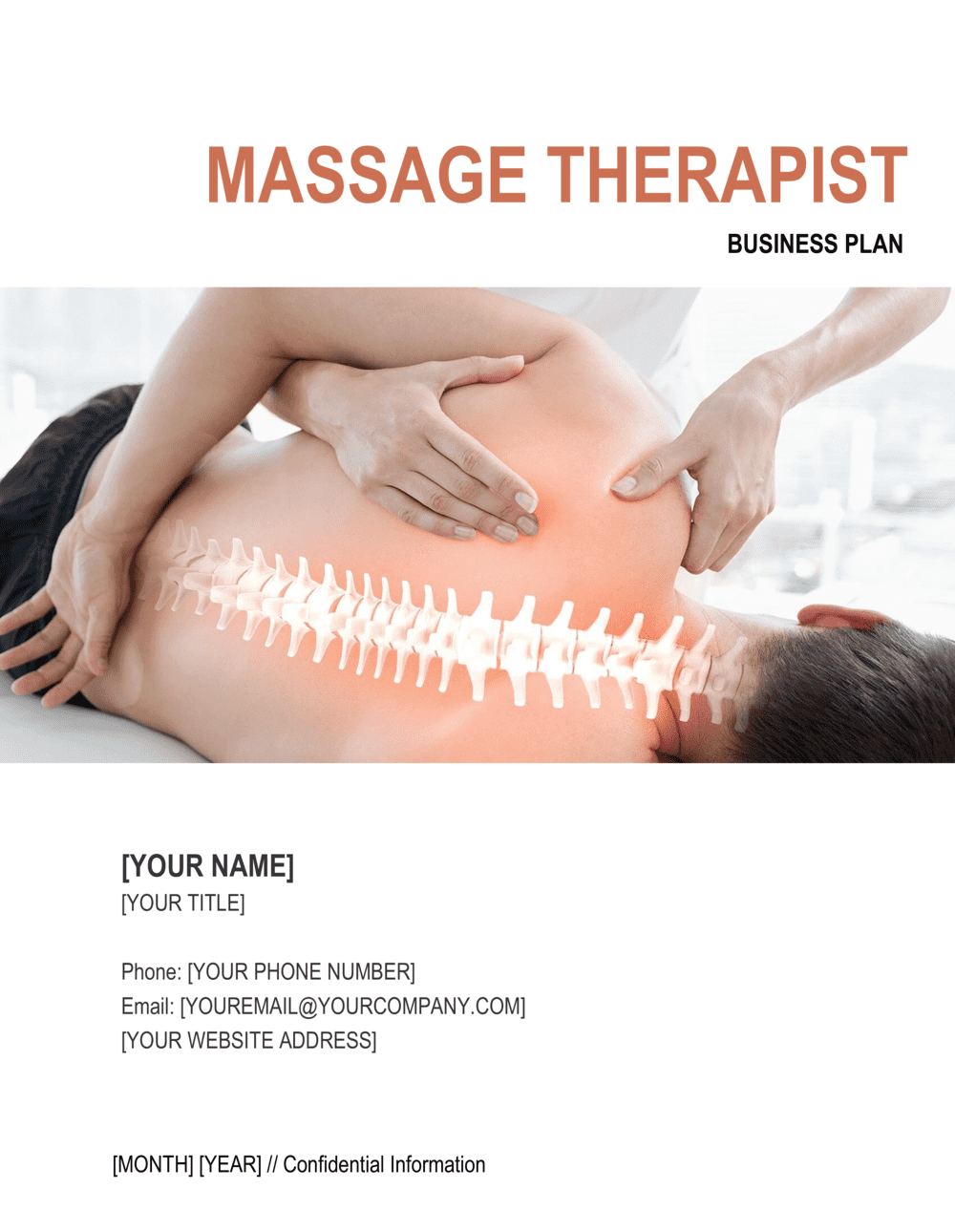Business-in-a-Box's Massage Therapist Business Plan Template