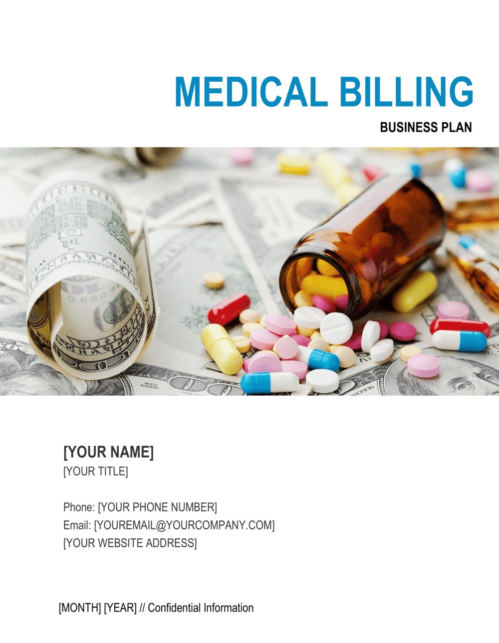 Business-in-a-Box's Medical Billing Business Plan Template
