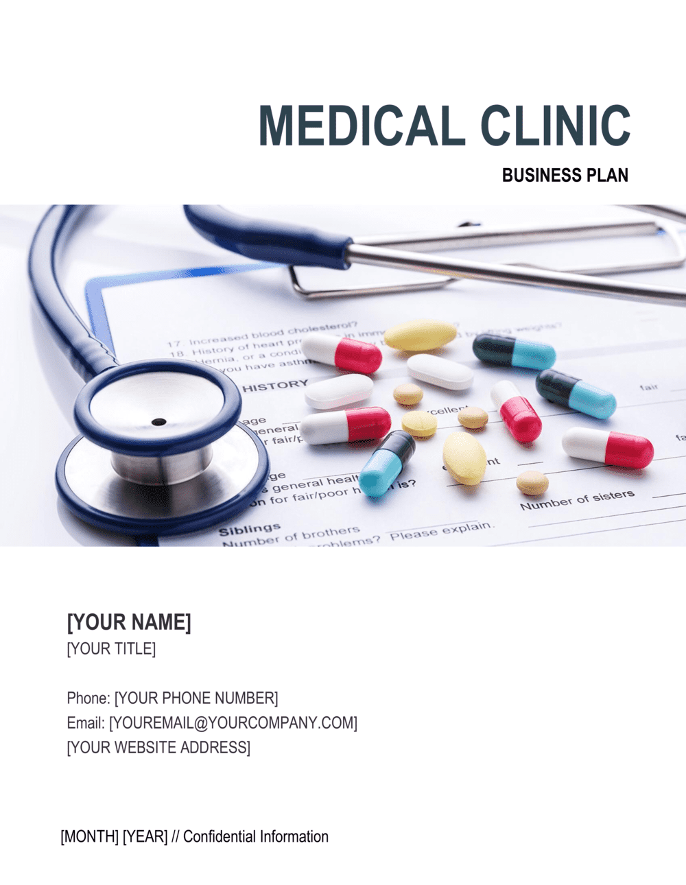 Business-in-a-Box's Medical Clinic Business Plan Template