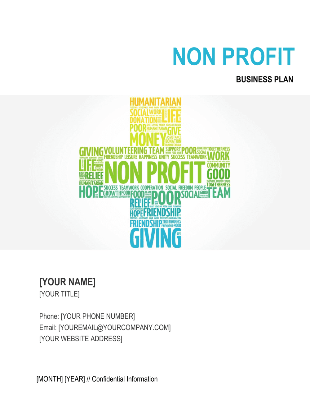 Business-in-a-Box's Non-profit Organization Business Plan Template