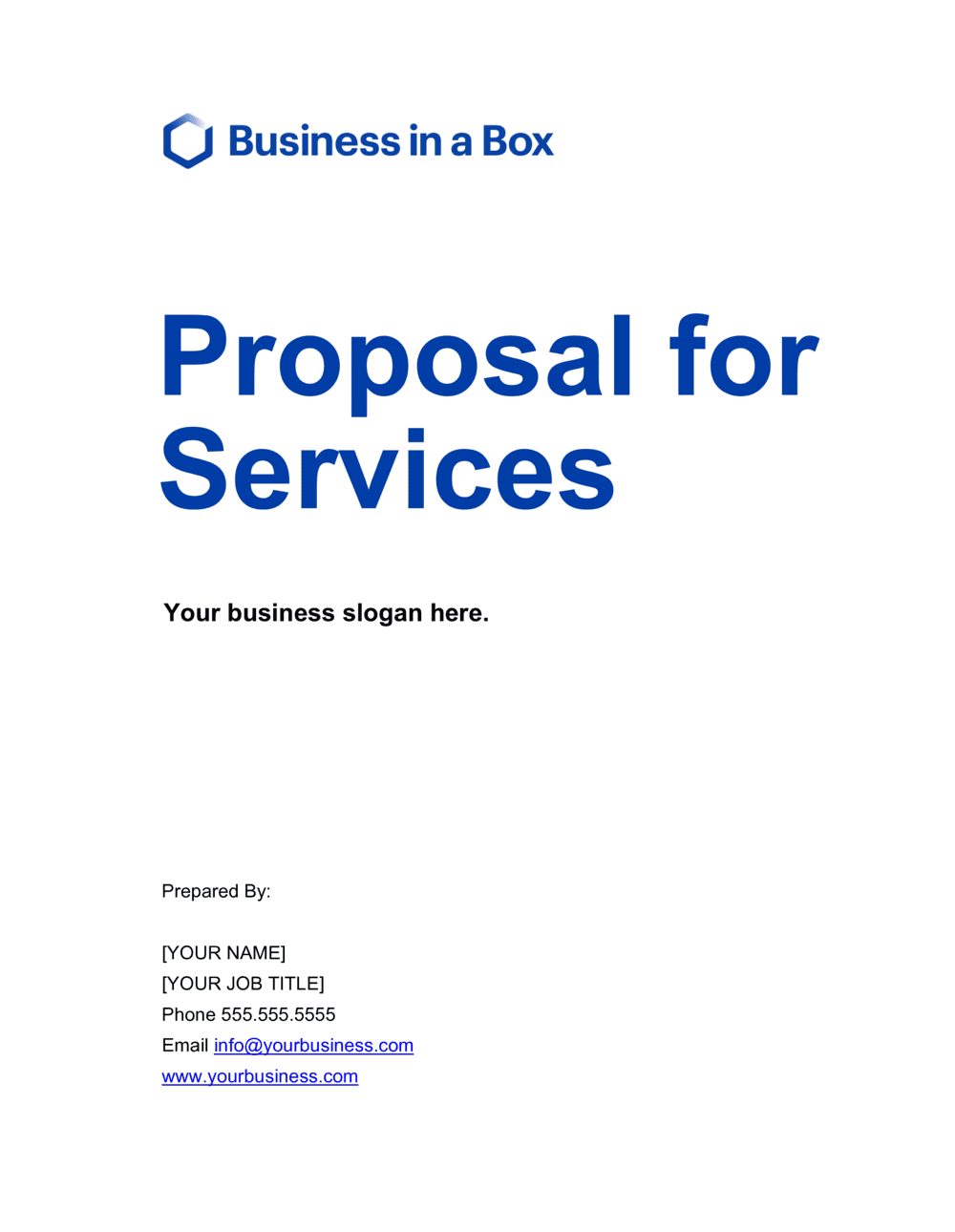 Sample Business Proposal Letter For Services from templates.business-in-a-box.com