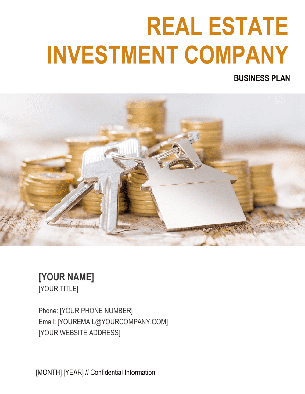 Business-in-a-Box's Real Estate Investment Company Business Plan Template