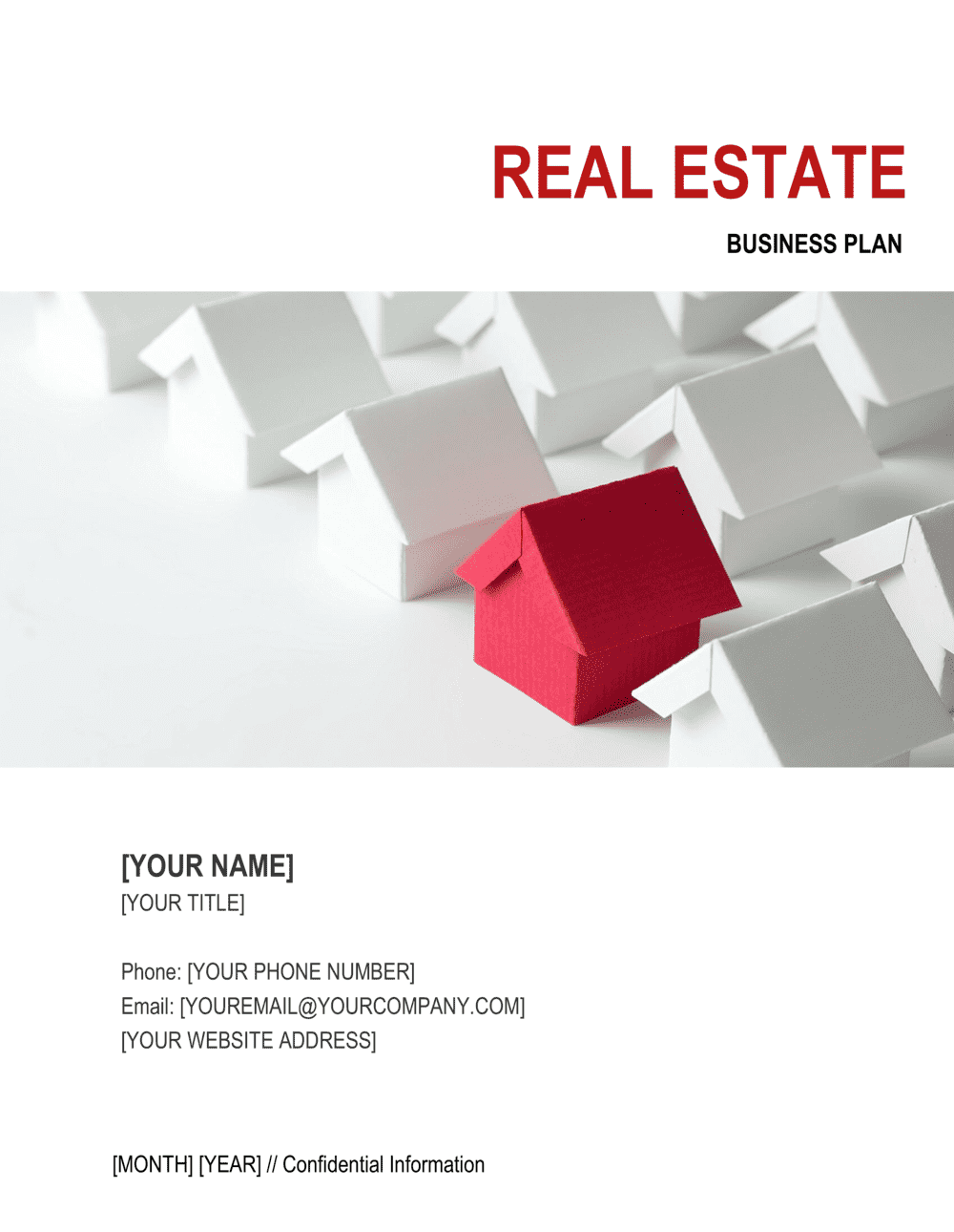Business-in-a-Box's Real Estate Management Business Plan 2 Template