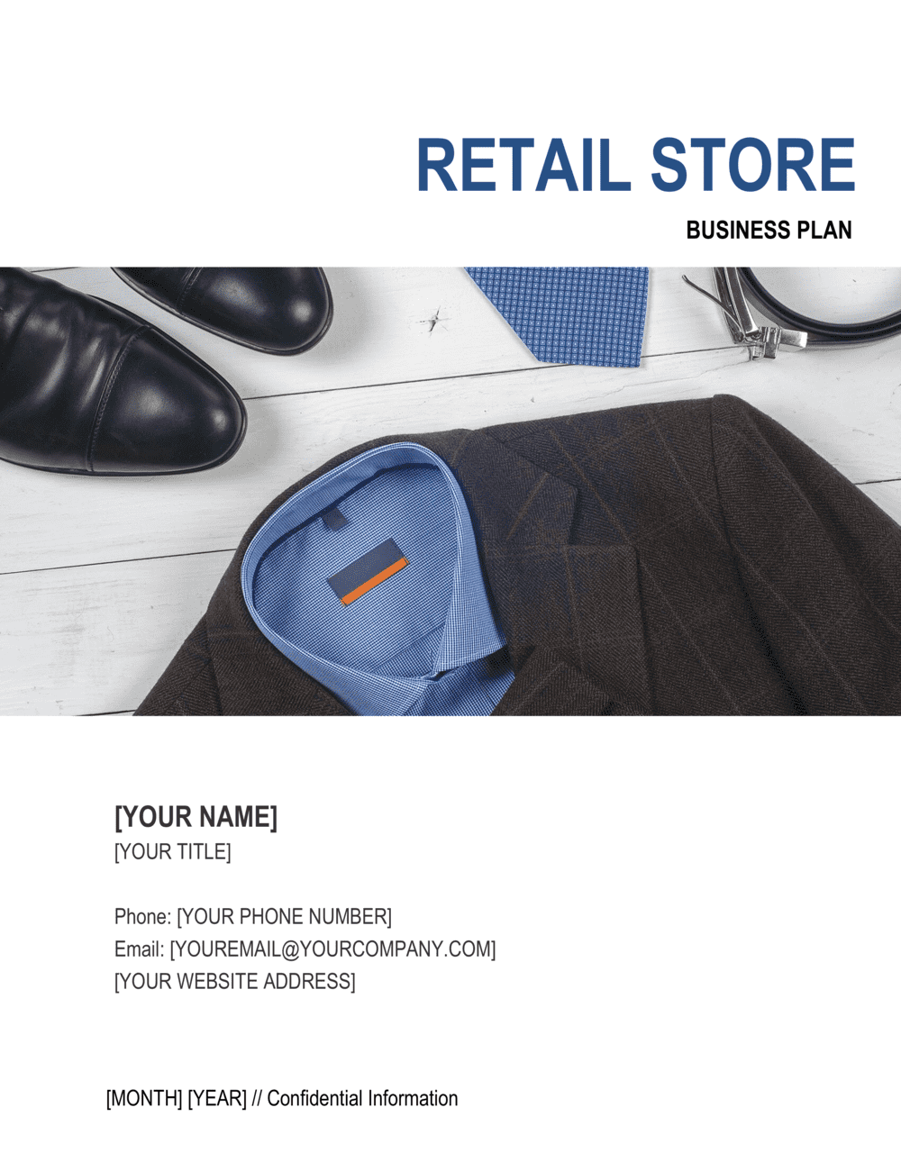 Business-in-a-Box's Retail Store Business Plan 4 Template