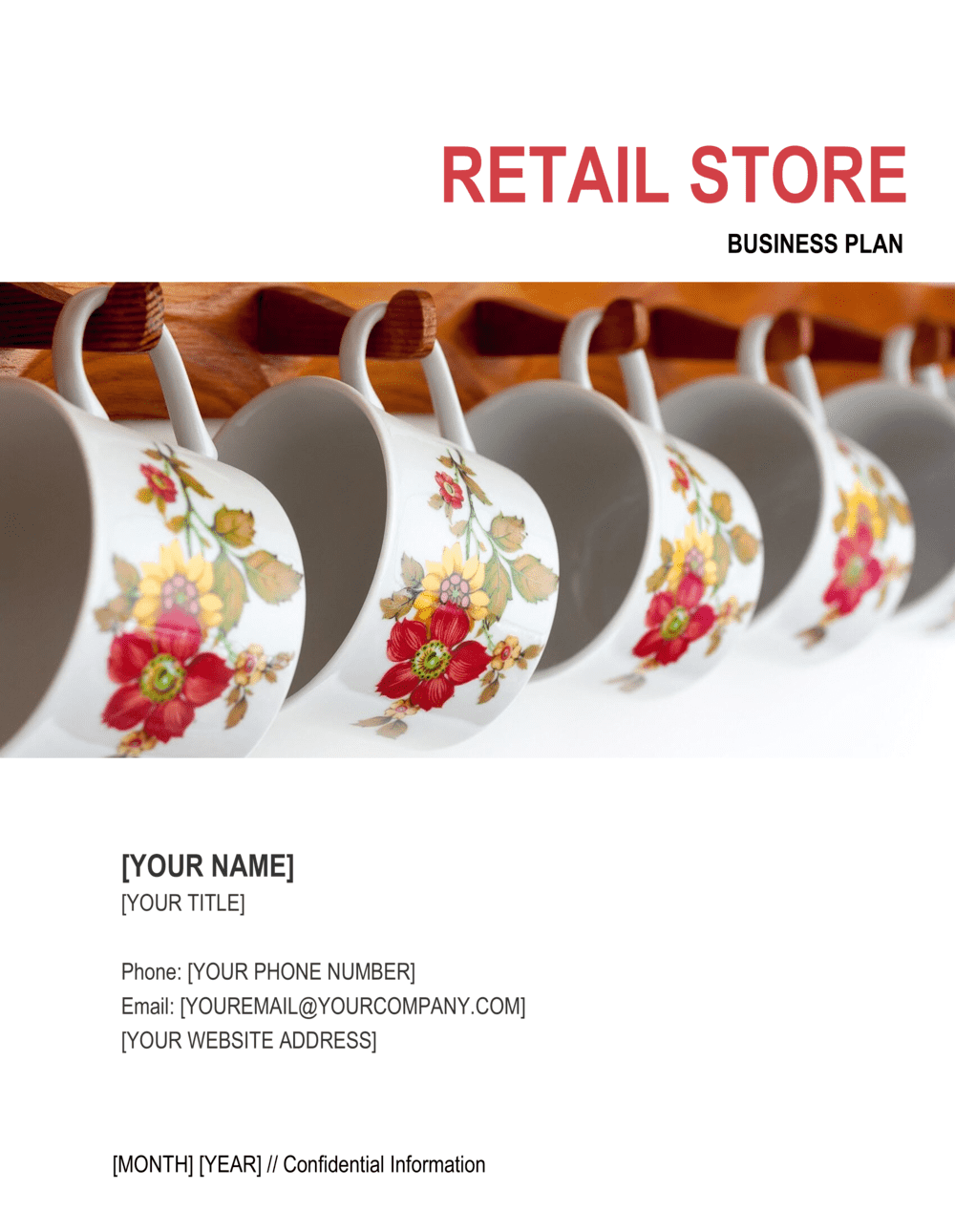 Business-in-a-Box's Retail Store Business Plan 5 Template