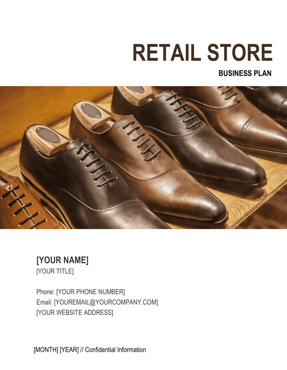Business-in-a-Box's Retail Store Business Plan Template