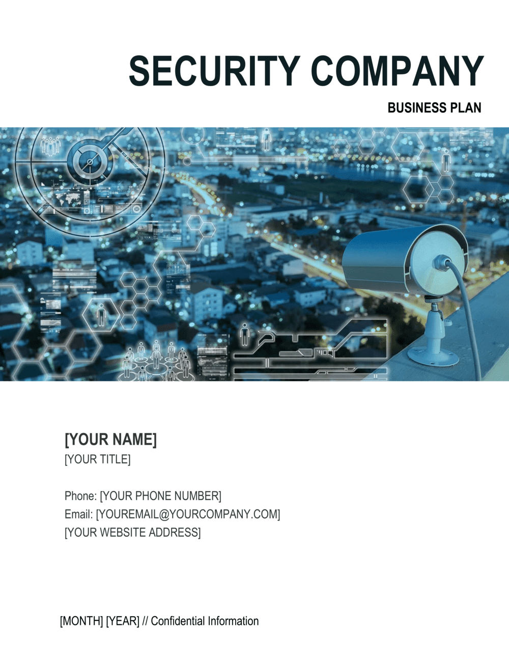 Business-in-a-Box's Security Company Business Plan 2 Template