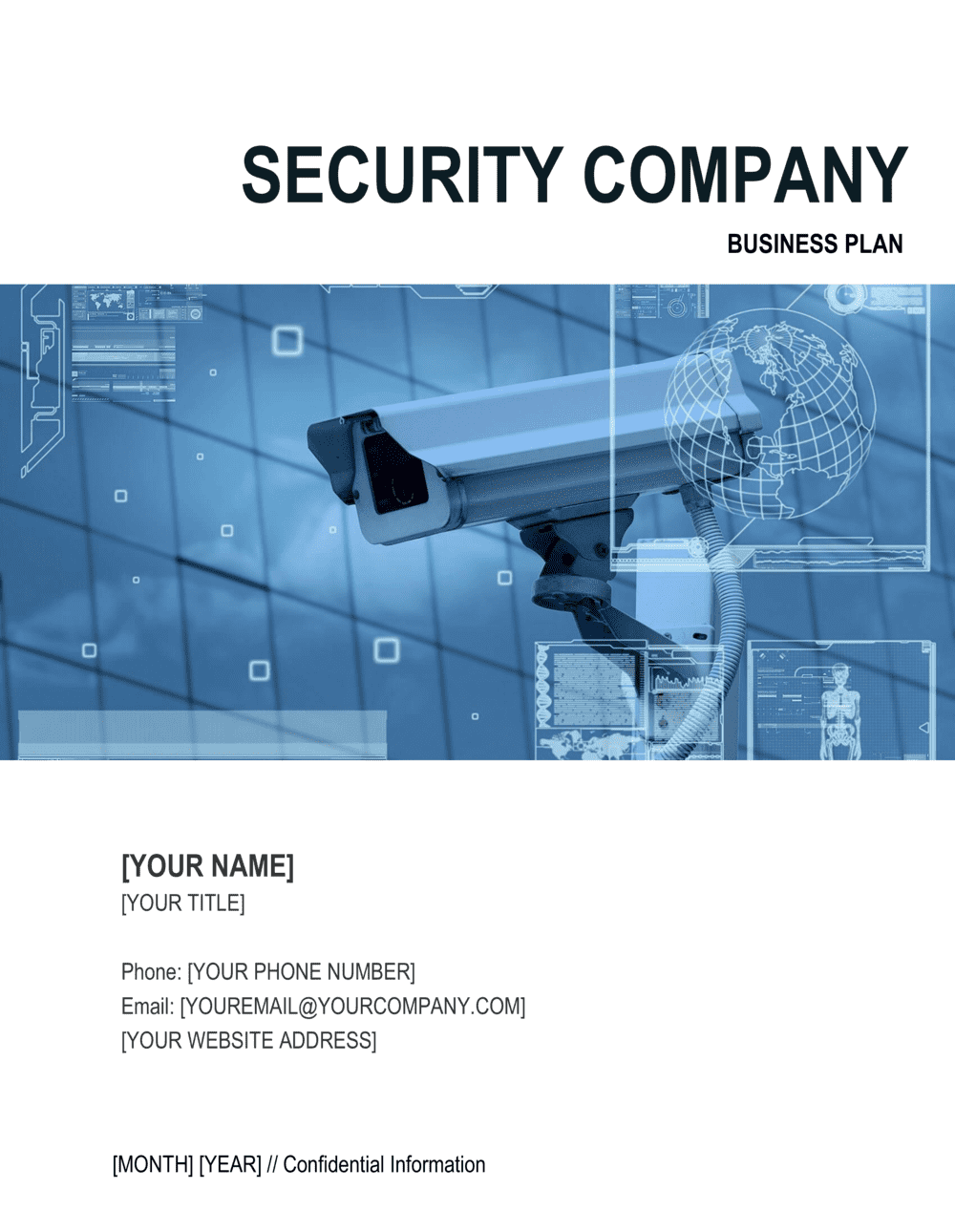 Security and surveillance business plan example phd thesis unemployment