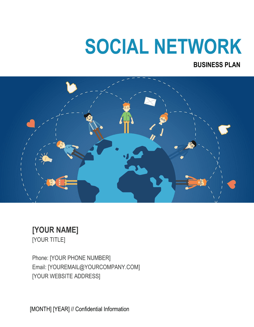 Business-in-a-Box's Social Network Business Plan Template