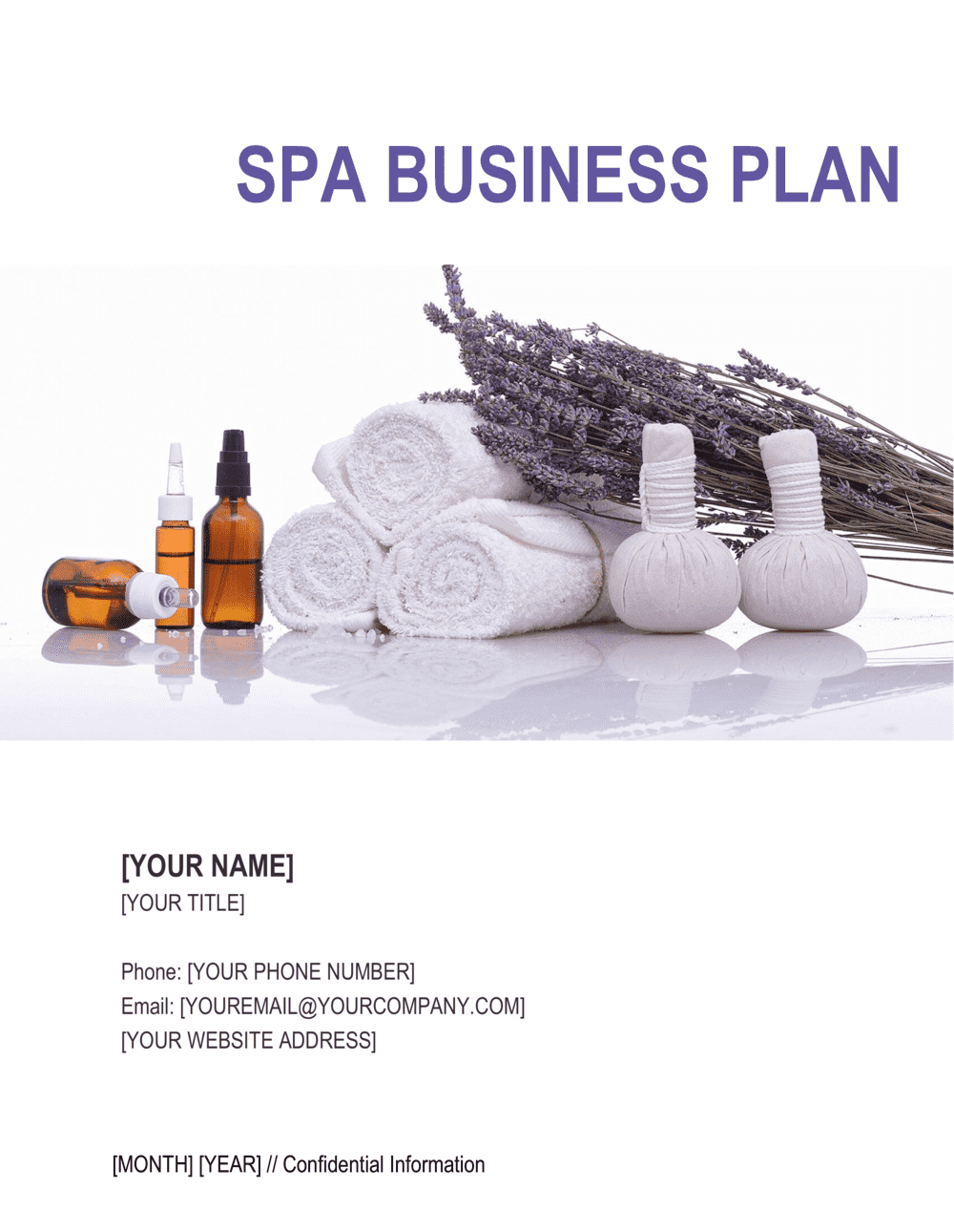 Business-in-a-Box's Spa Business Plan Template