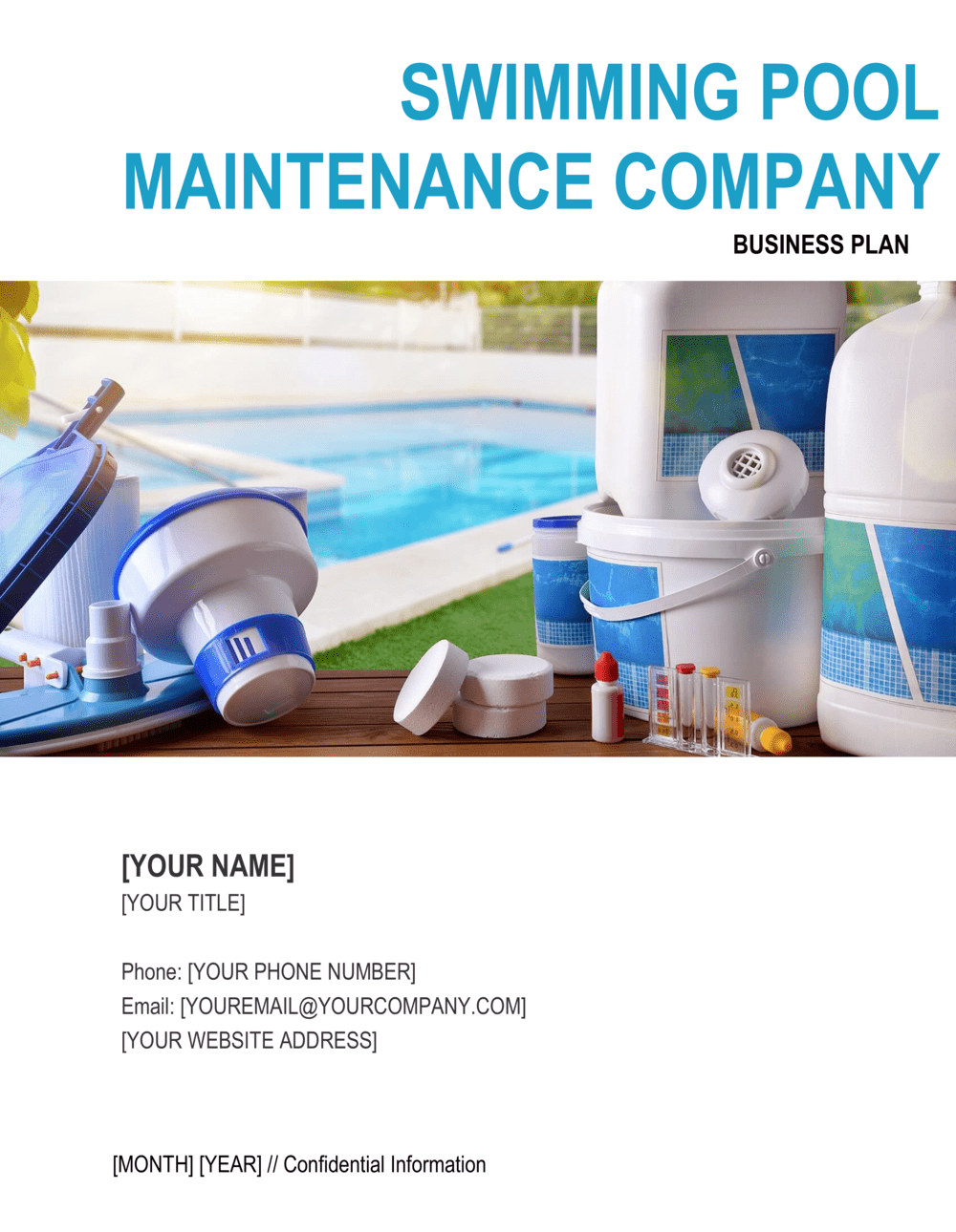 Business-in-a-Box's Swimming Pool Maintenance Company Business Plan Template