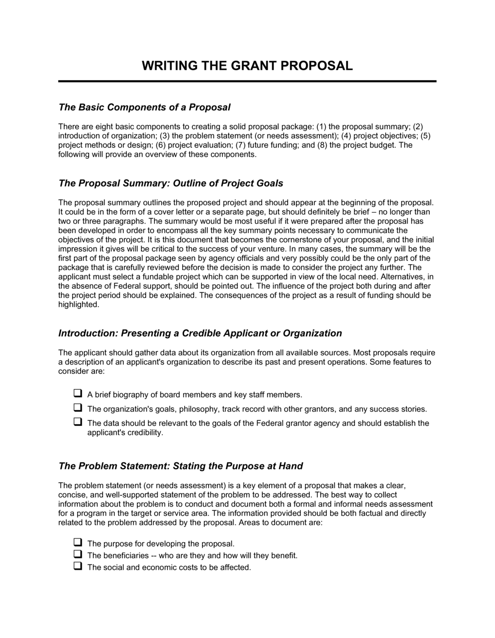 Cover Letter For Grant Proposal from templates.business-in-a-box.com