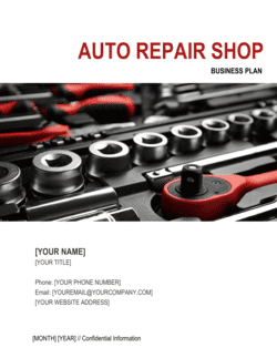 Auto Repair Shop Business Plan