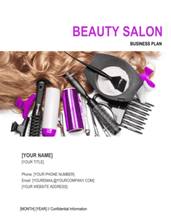 Beauty Salon Business Plan 3