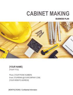 Cabinet Making Business Plan