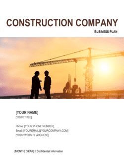 Construction Company Business Plan