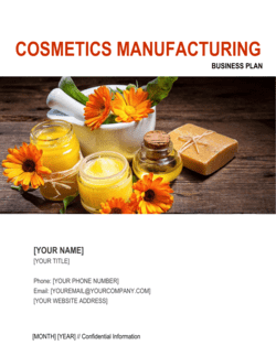Cosmetics Manufacturing Business Plan