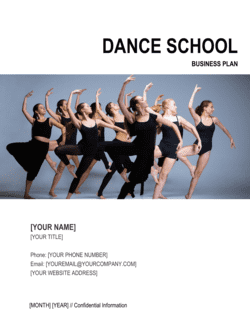 Dance School Business Plan